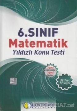 Güvender 6.Sınıf Matematik Yıldızlı Konu Testi