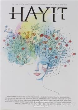 Hayıt 3 Aylık Kültür Sanat Edebiyat ve Bilim Dergisi Sayı: 13 Eylül 2019