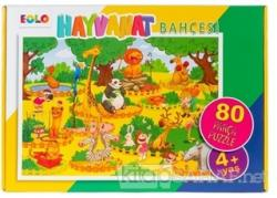 Hayvanat Bahçesi - 80 Parça Puzzle (4 Yaş) - | Yeni ve İkinci El Ucuz