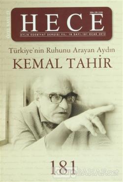 Hece Aylık Edebiyat Dergisi Kemal Tahir Özel Sayısı: 181 (Ciltli)