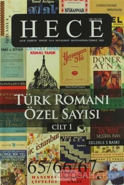 Hece Aylık Edebiyat Dergisi Sayı: 4 - Türk Romanı Özel Sayısı 65/66/67 (2 Cilt Takım) (Ciltsiz)
