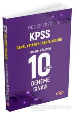 Hedef 2020 KPSS Genel Yetenek-Genel Kültür Tamamı Çözümlü 10 Deneme Sınavı