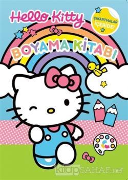 Hello Kitty Boyama Kitabı Çıkartmalar İçeride!