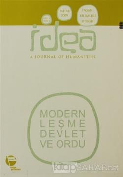 İdea Cilt: 1 Sayı: 1 İnsan Bilimleri Dergisi / A Journal of Humanities