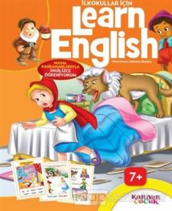 İlkokullar İçin Learn English (Turuncu)