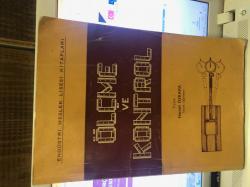 ölçme ve kontrol - | Yeni ve İkinci El Ucuz Kitabın Adresi