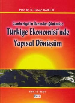Türkiye Ekonomisi'nde Yapısal Dönüşüm