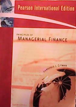 MANAGERIAL FİNANCE