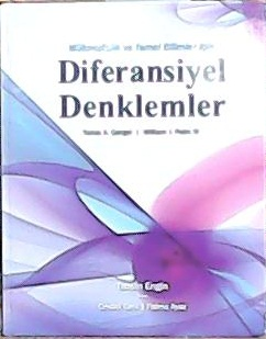 DİFERENSİYEL DENKLEMLER