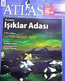 ATLAS DERGİSİ MART 2011 SAYI:216 İZLANDA IŞIKLAR ADASI