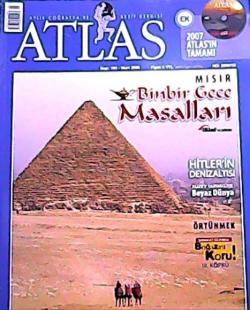 ATLAS DERGİSİ MART 2008 SAYI:180 MISIR BİNBİR GECE MASALLARI