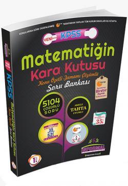 KPSS Matematiğin Kara Kutusu Konu Özetli Tamamı Çözümlü Soru Bankası 1. Cilt