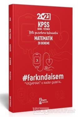 İsem 2021 Farkında İsem KPSS Genel Yetenek Matematik 20 Deneme