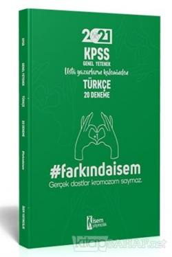 İsem 2021 Farkında İsem KPSS Genel Yetenek Türkçe 20 Deneme