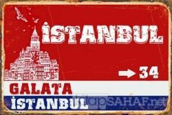 İstanbul Galata Poster
