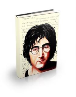 John Lennon Sert Kapaklı Defter