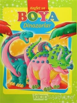 Keşfet ve Boya - Dinozorlar