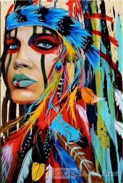 Kızılderili Kadın