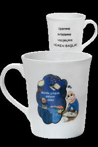 Tonguç Porselen Kupa - Tonguç Komisyon | Yeni ve İkinci El Ucuz Kitabı