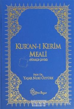 Kur'an-ı Kerim Meali (Rahle Boy) (Ciltli)