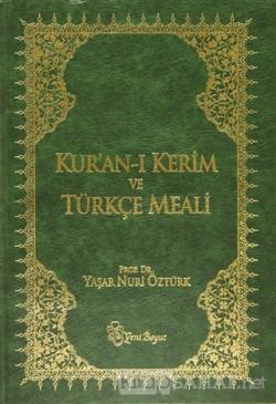 Kur'an-ı Kerim ve Türkçe Meali (Metinli Büyük Boy) (Ciltli)