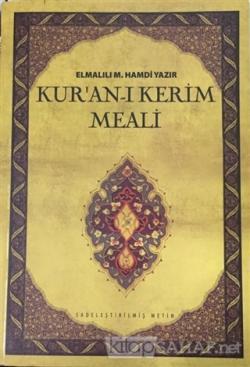 Kur'an-ı Kerim Meali (Çanta Boy) - Elmalili M. Hamdi Yazır | Yeni ve İ