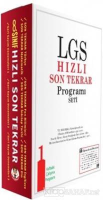 LGS Hızlı Son Tekrar Programı Seti
