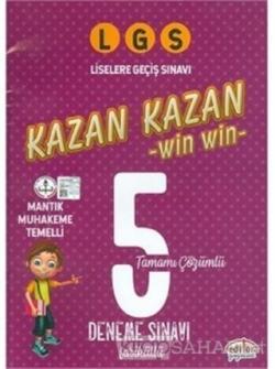 LGS Kazan Kazan Tamamı Çözümlü 5 Deneme Sınavı
