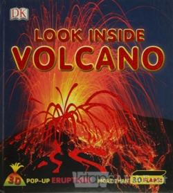 Look Inside Volcano - Dorling Kindersley | Yeni ve İkinci El Ucuz Kita