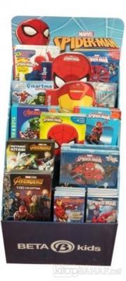 Marvel Boyama - Aktivite Kitapları Stantı (117 Kitap)