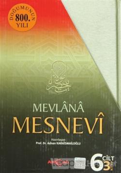 Mesnevi  Mevlana 3 Kitap Takım