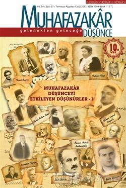 Muhafazakar Düşünce Dergisi Sayı 37 - 2013