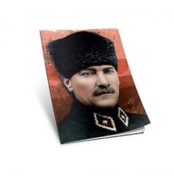 Mustafa Kemal Atatürk 2 Yumuşak Kapaklı Defter