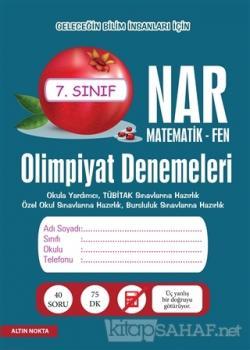 Nar Olimpiyat Denemeleri 7. Sınıf Matematik - Fen