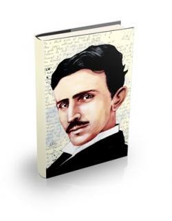 Nikola Tesla Sert Kapaklı Defter