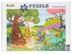 Ormanda Piknik - 96 Parça Puzzle (5 Yaş)