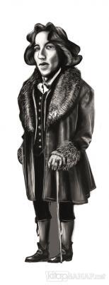 Oscar Wilde (Karikatür) - Ayraç