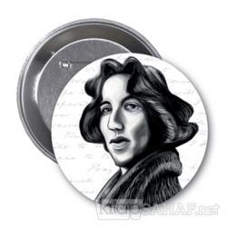 Oscar Wilde (Karikatür) - Rozet