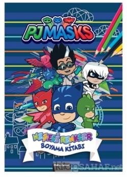 Pjmasks Neşeli Renkler Boyama Kitabı