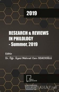 Research and Reviews In Philology - Summer 2019 - Kolektif | Yeni ve İ