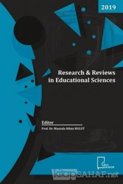 Research Reviews in Educational Sciences
