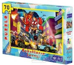 Robotların Savaşı 70 Parça Puzzle