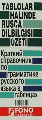 Rusça Fiil Zamanları ve Dilbilgisi Tablosu