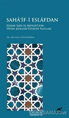 Saha'if-i Eslafdan (Ciltli)