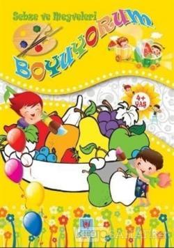 Sebze ve Meyveleri Boyuyorum