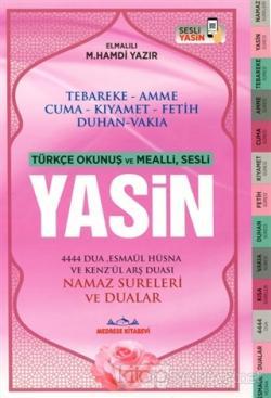 Sesli Yasin Türkçe Okunuşlu ve Mealli (Orta Boy-2. Hamur Renkli)