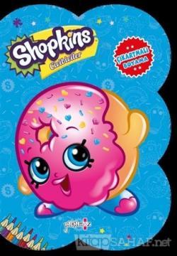 Shopkins Cicibiciler - Mavi Çıkartmalı Boyama