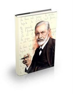 Sigmund Freud Sert Kapaklı Defter