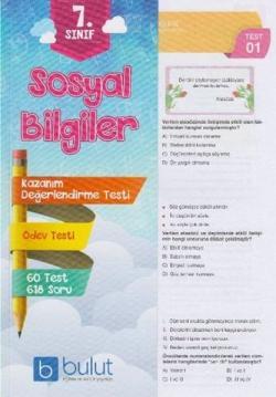 Bulut 7. Sınıf Sosyal Bilgiler Yaprak Test