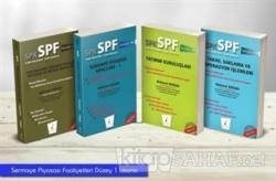 SPK - SPF Sermaye Piyasası Faaliyetleri Düzey 1 Lisansı Seti (4 Kitap Takım)